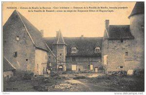 Besseuil chateau des Busseul à Moulin la Reconce, Poisson