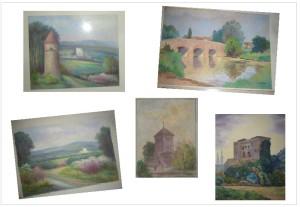 vente tableaux St Hippolyte