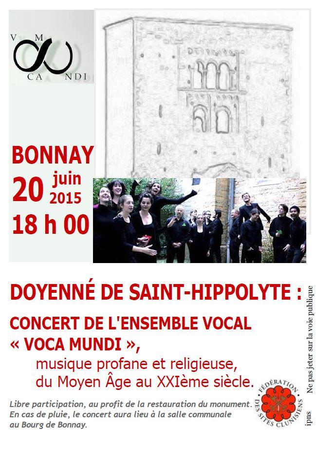 Affiche Voca Mundi St-Hippolyte