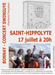 affiche swinguye St-Hippo