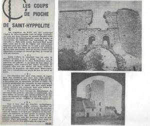 1973 courrier de Saone et Loire